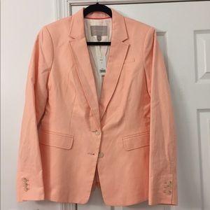 Banana Republic Peach Women's Blazer, NWT, Size 12